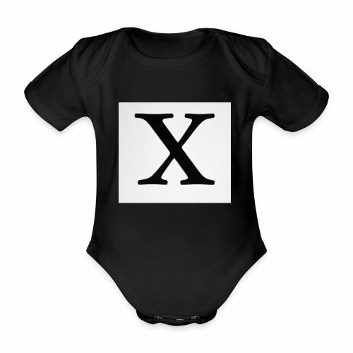 THE X - Organic Short-sleeved Baby Bodysuit