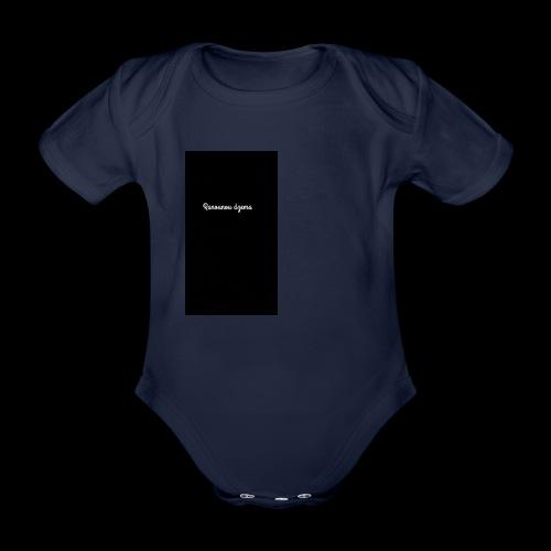 Body design Ranounou dezma - Body Bébé bio manches courtes
