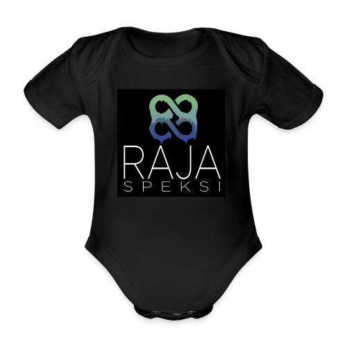 RajaSpeksin logo - Vauvan lyhythihainen luomu-body