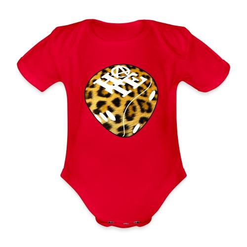 Leopard - Organic Short-sleeved Baby Bodysuit