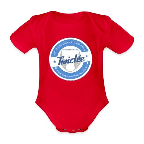 logo twictee - Body Bébé bio manches courtes