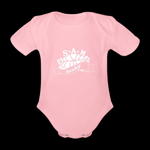 SamShaky - Vauvan lyhythihainen luomu-body