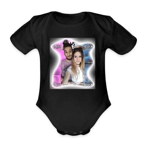 Tina VS Ivan - Organic Short-sleeved Baby Bodysuit