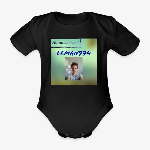 Leman974 logo - Body Bébé bio manches courtes