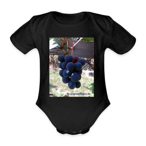 Traube - Baby Bio-Kurzarm-Body