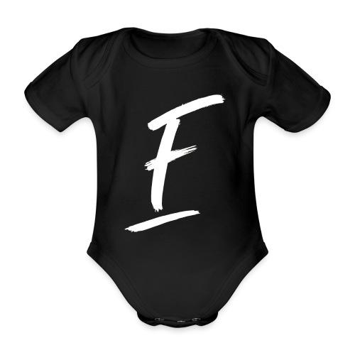 Radio Fugue F Blanc - Body bébé bio manches courtes