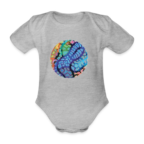 concentric - Organic Short-sleeved Baby Bodysuit