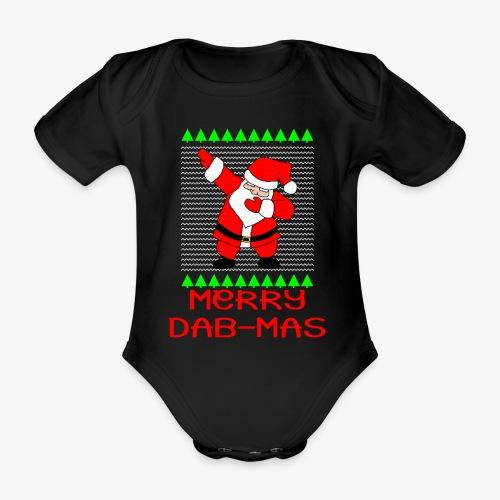 Merry Dab-Mas Ugly Xmas - Baby Bio-Kurzarm-Body
