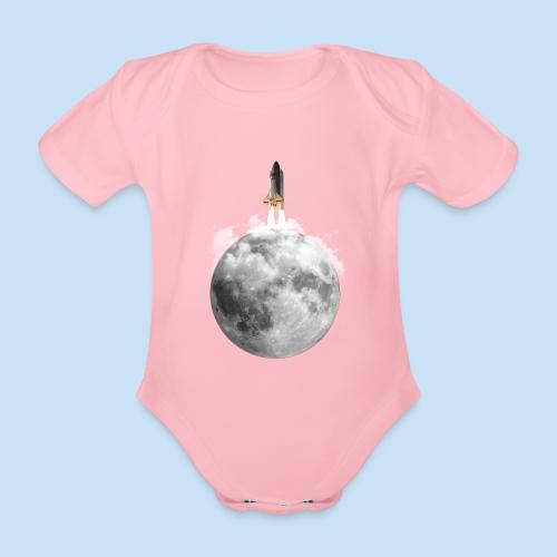 Mondrakete - Baby Bio-Kurzarm-Body