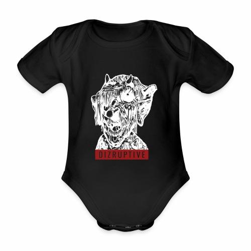 dizruptive zombie - Baby Bio-Kurzarm-Body