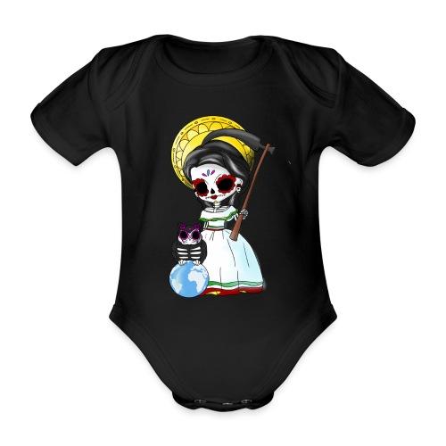 ✦ La Muerte Mexicana ✦ - Baby Bio-Kurzarm-Body