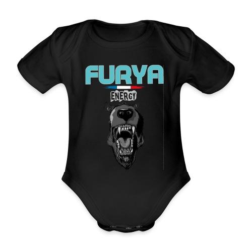 Furya Ours 2021 - Body Bébé bio manches courtes