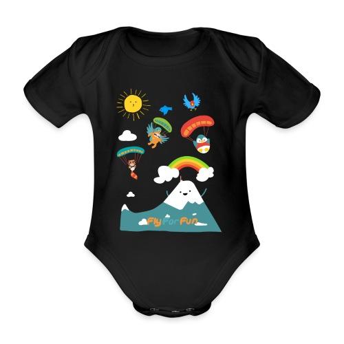 kidsFFF4 png - Baby Bio-Kurzarm-Body