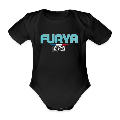Furya 2021 White - Body Bébé bio manches courtes