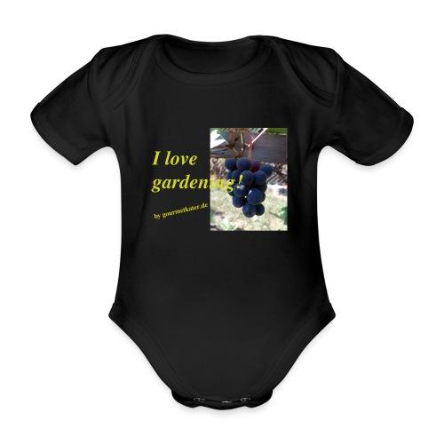 Weintraube - I love gardening - Baby Bio-Kurzarm-Body