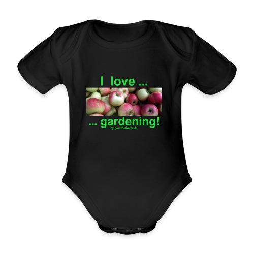 Äpfel - I love gardening! - Baby Bio-Kurzarm-Body