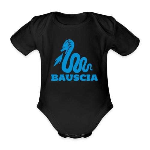 Logo Bauscia - Body ecologico per neonato a manica corta