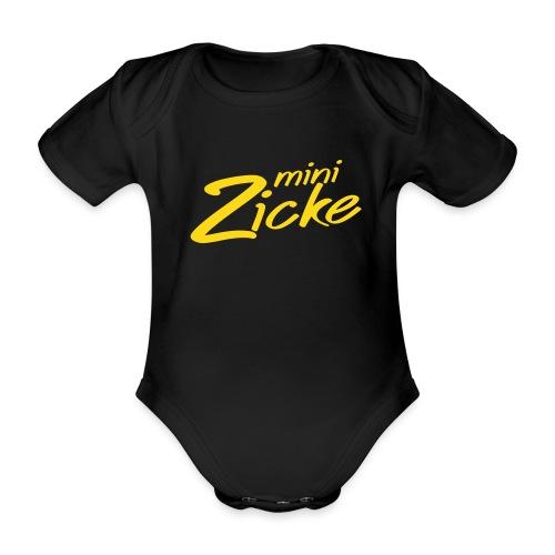 minizicke - Baby Bio-Kurzarm-Body