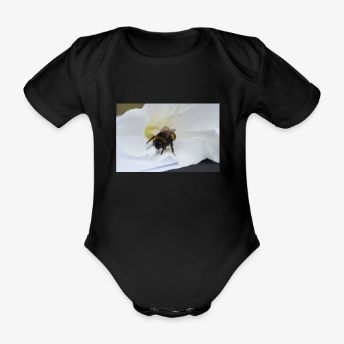 Beeflu - Organic Short-sleeved Baby Bodysuit