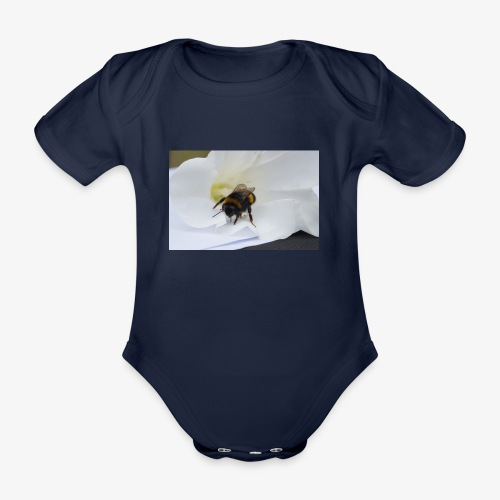 Beeflu - Organic Short-sleeved Baby Bodysuit