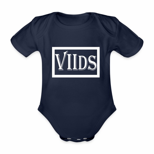 Viids logo - Ekologiczne body niemowlęce z krótkim rękawem