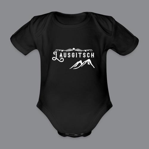 Lausgitsch Weiß - Baby Bio-Kurzarm-Body