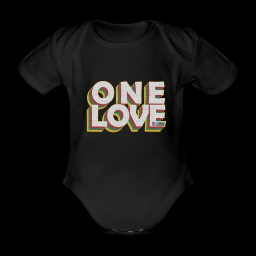 ONE LOVE - Baby Bio-Kurzarm-Body