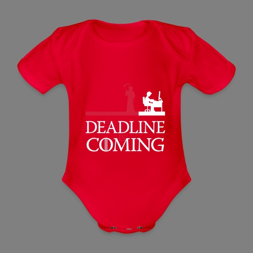 deadline is coming - Baby Bio-Kurzarm-Body