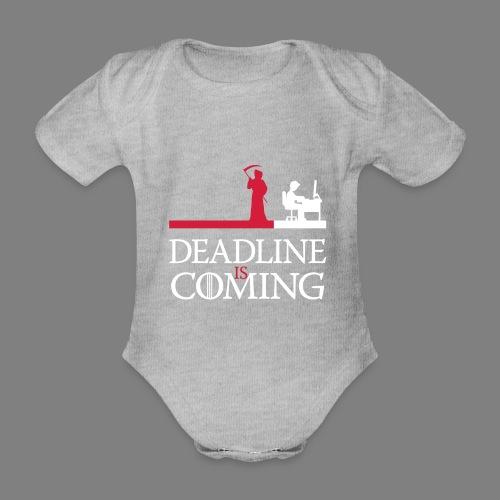 deadline is coming - Baby Bio-Kurzarm-Body