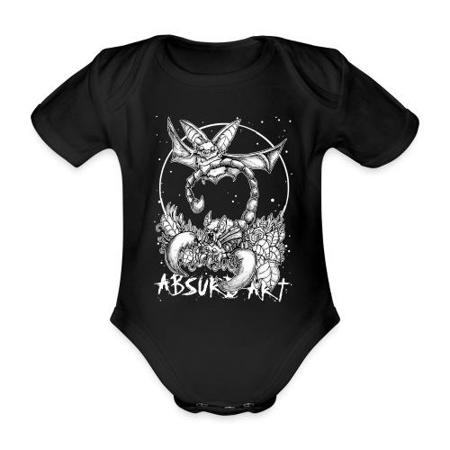 Sternzeichen Skorpion, von Absurd Art - Baby Bio-Kurzarm-Body