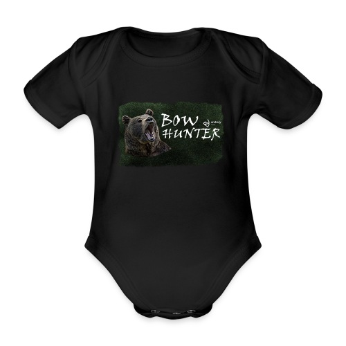 Bowhunter - Baby Bio-Kurzarm-Body