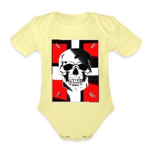 Kreuzritter - Baby Bio-Kurzarm-Body