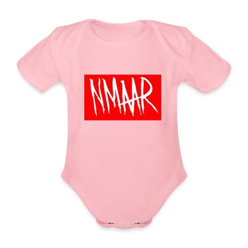 Logo Shirt - Kortærmet babybody, økologisk bomuld