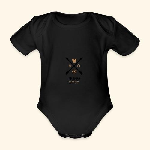 NONO SINCE 2017 - Kortærmet babybody, økologisk bomuld