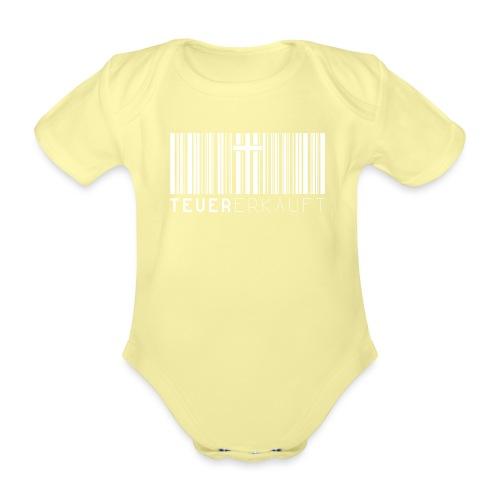 Teuer Erkauft Barcode Jesus Kreuz - Christlich - Baby Bio-Kurzarm-Body