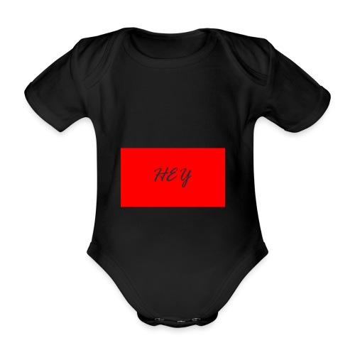 HEY - Ekologisk kortärmad babybody