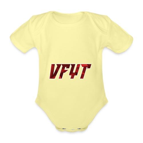 vfyt shirt - Baby bio-rompertje met korte mouwen