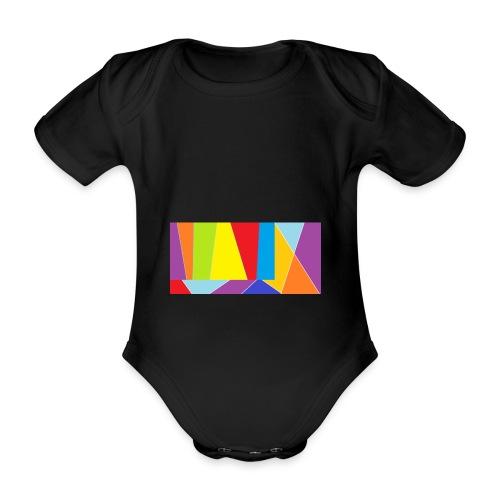 coler full emblem with black bakround - Ekologisk kortärmad babybody
