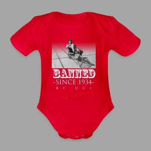 Recumbent Bike Banned since 1934 - Vauvan lyhythihainen luomu-body