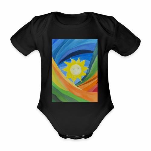 lachende-sonne - Baby Bio-Kurzarm-Body
