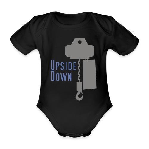 upside down - Baby Bio-Kurzarm-Body