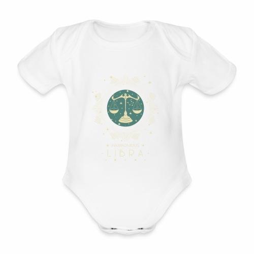 Sternzeichen Harmonische Waage September Oktober - Baby Bio-Kurzarm-Body