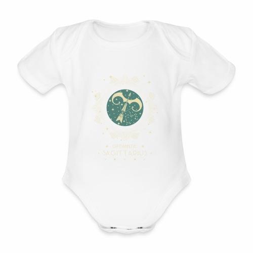 Sternbild Optimistischer Schütze November Dezember - Baby Bio-Kurzarm-Body