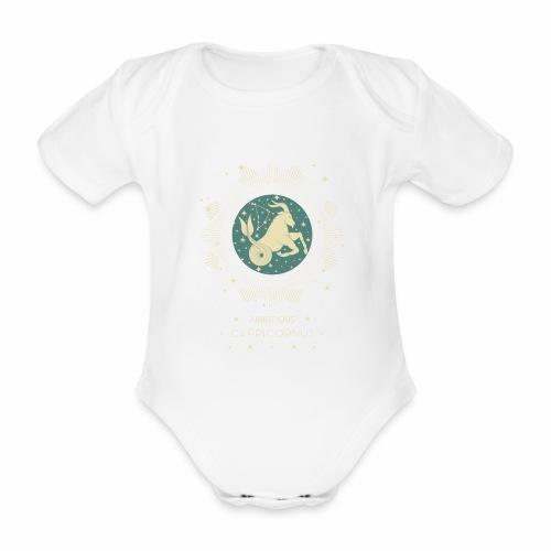 Sternzeichen Ehrgeiziger Steinbock Dezember Januar - Baby Bio-Kurzarm-Body