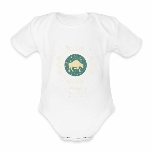 Sternzeichen Taurus - Imposanter Stier April Mai - Baby Bio-Kurzarm-Body