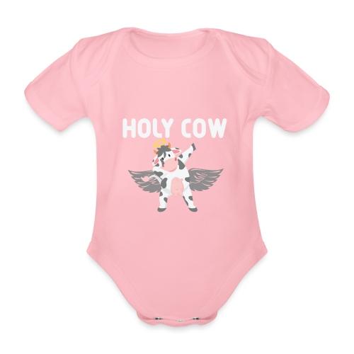 Holy Cow - Ekologisk kortärmad babybody