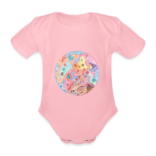 Creativity Healing originale JPG png - Body ecologico per neonato a manica corta