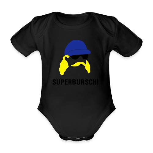 SUPERBURSCHI - Baby Bio-Kurzarm-Body