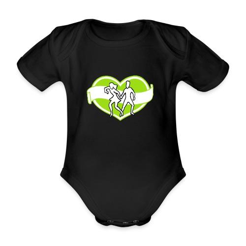 Spreadshirt - Ekologisk kortärmad babybody