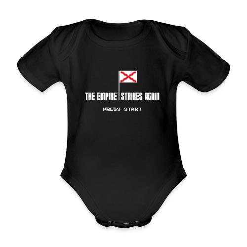 The Empire Strikes Again - Body orgánico de maga corta para bebé